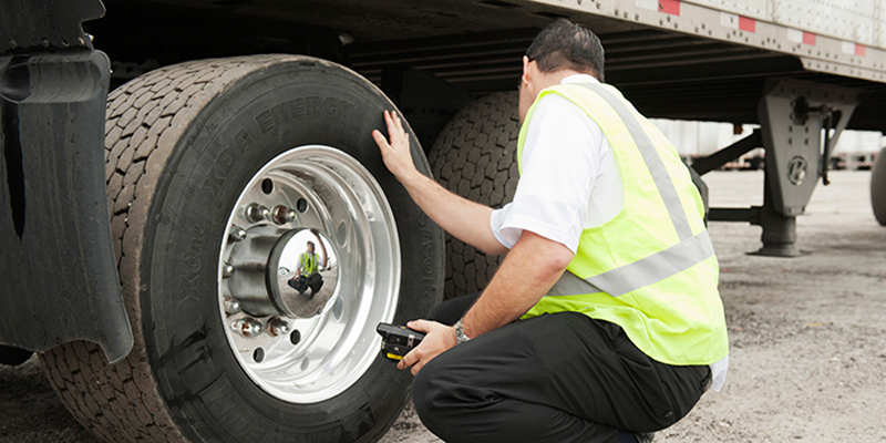 Check your tire pressure TRUCK