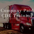 Company Paid CDL Training