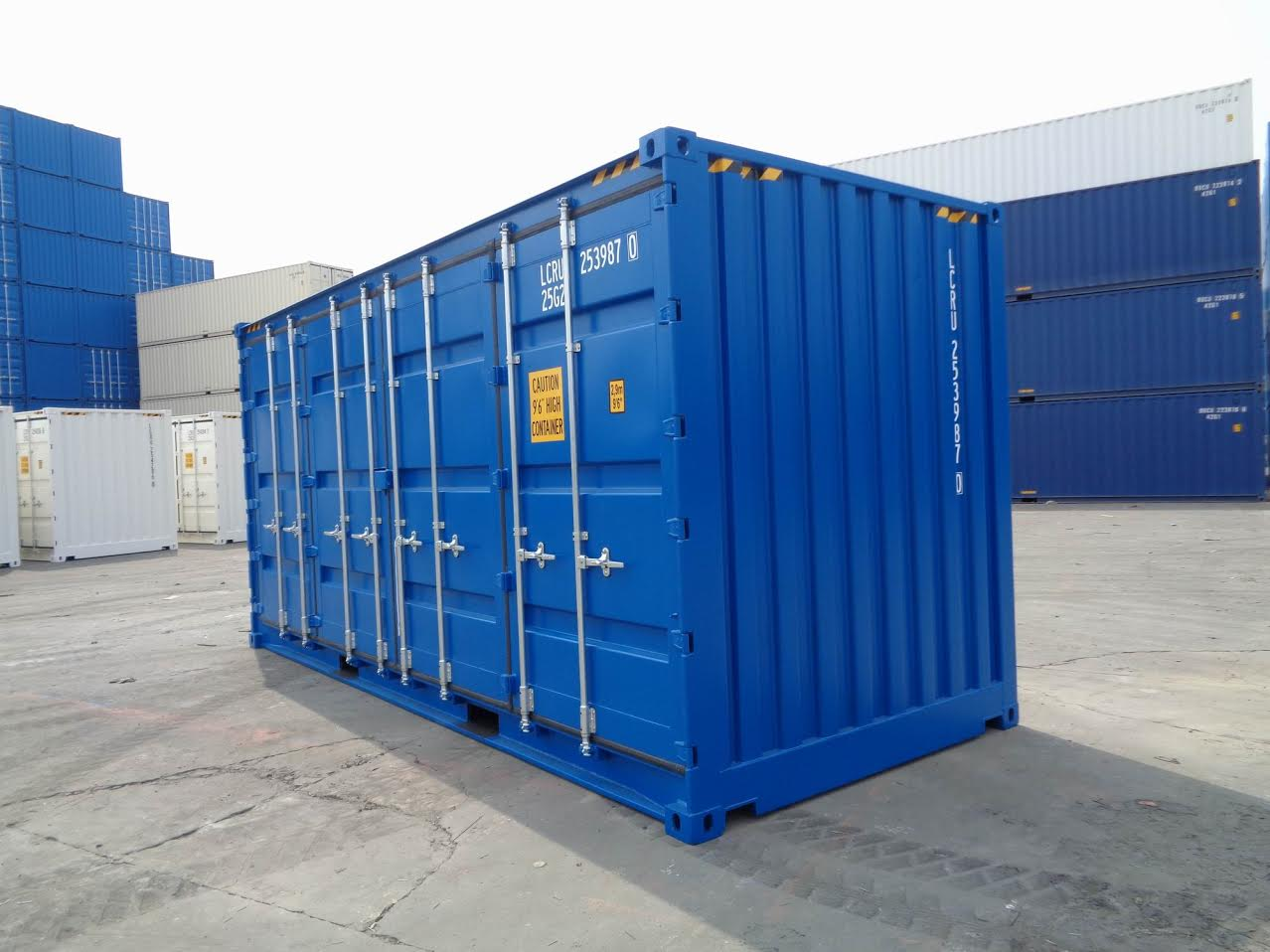 20 foot dry freight container