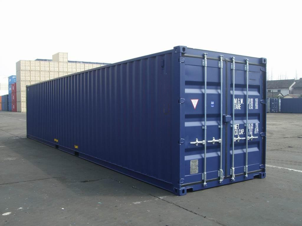40 foot dry freight container