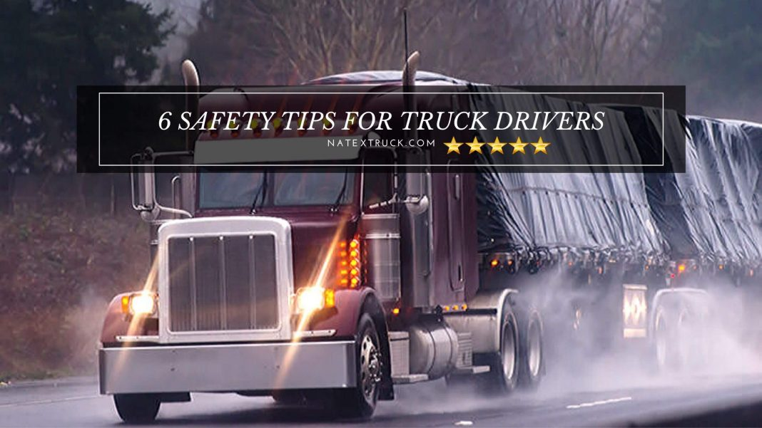 Safety is Job One for Truck Drivers